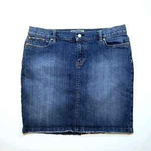 Old Navy Stretch Jean Skirt